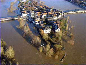 Flood in Orleans December 2003